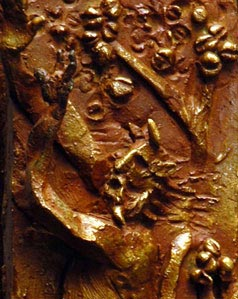 Apollo e marsia - Scultura in bronzo